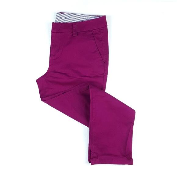 e8ac5af1e04d4 JCPenney Women s Twill Chino Capri Pants